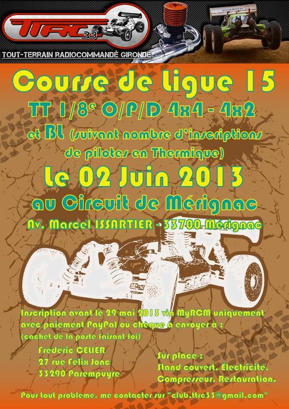 Course REGIONALE du 02/06/2013 au TTRC33 Course10