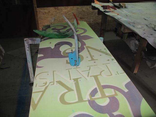 Projet de foil pour planche twin tip 2018-011