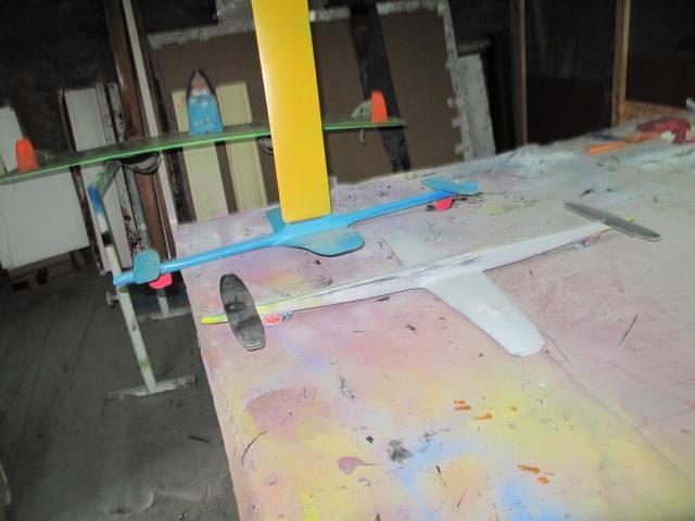 Projet de foil pour planche twin tip 2018-012