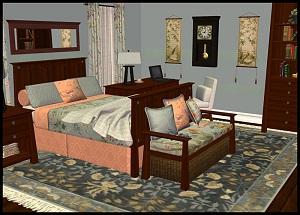 Спальни, кровати (деревенский стиль) - Страница 6 2i131447