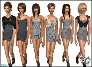 Повседневная одежда (платья, туники, комплекты с юбками) - Страница 2 Image277
