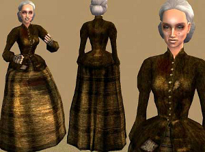 Старинные наряды Image291