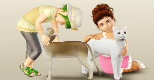 Позы с животными Image378