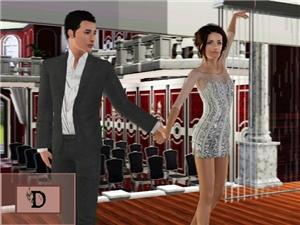 Танцевальные позы, пение - Страница 2 Image437