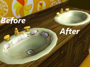 Ванные комнаты (модерн) Image553