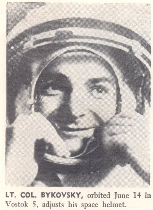 Vostok 5, Vostok 6 - 14, 16 juin 1963 - 1ers vols conjoints 63072213