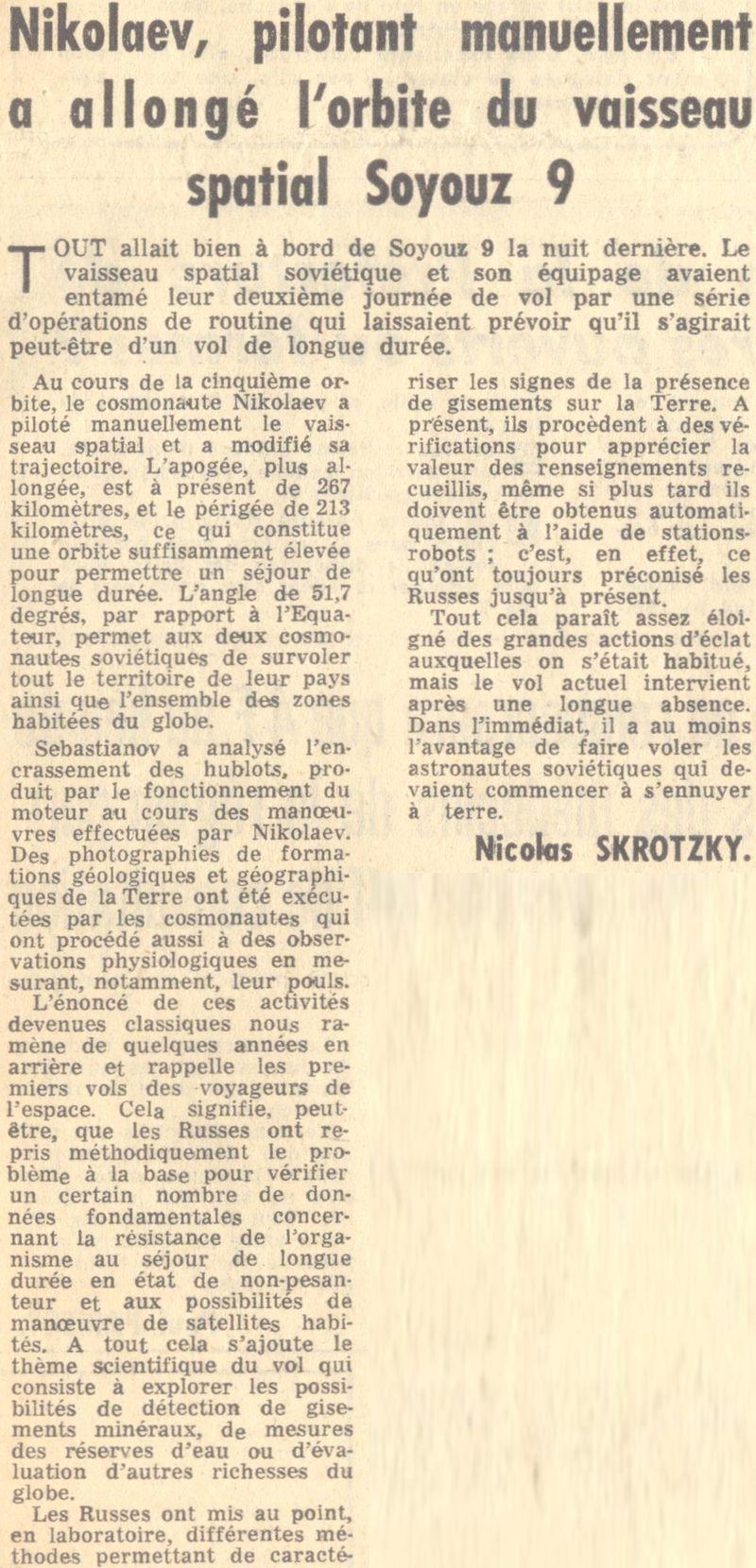 1er juin 1970 - Soyouz 9 70060212