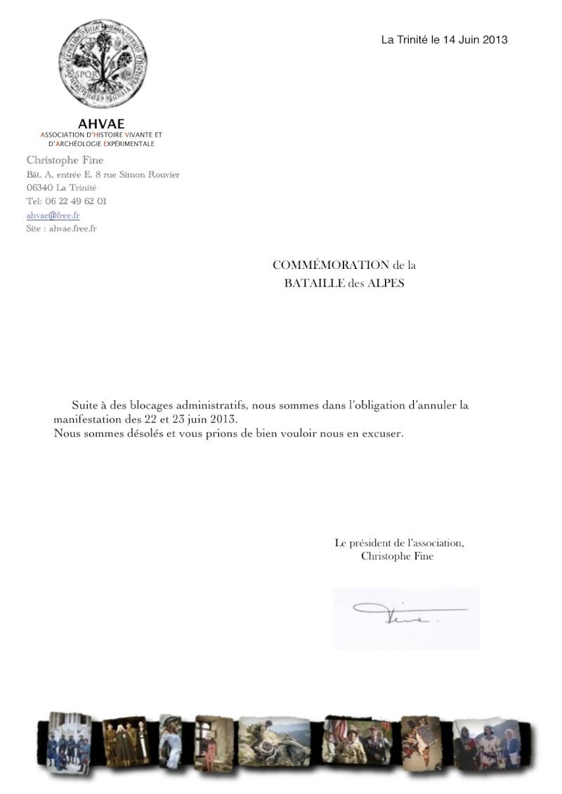 73 Anniversaire de la bataille des alpes ste Agnès 06 juin Annula10
