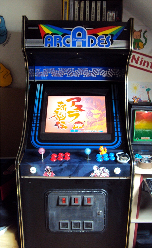 Ma p'tite collec Game Boy / Nintendo / SNK / ARCADE.. [MAJ mai 2013] - Page 5 Borne_10