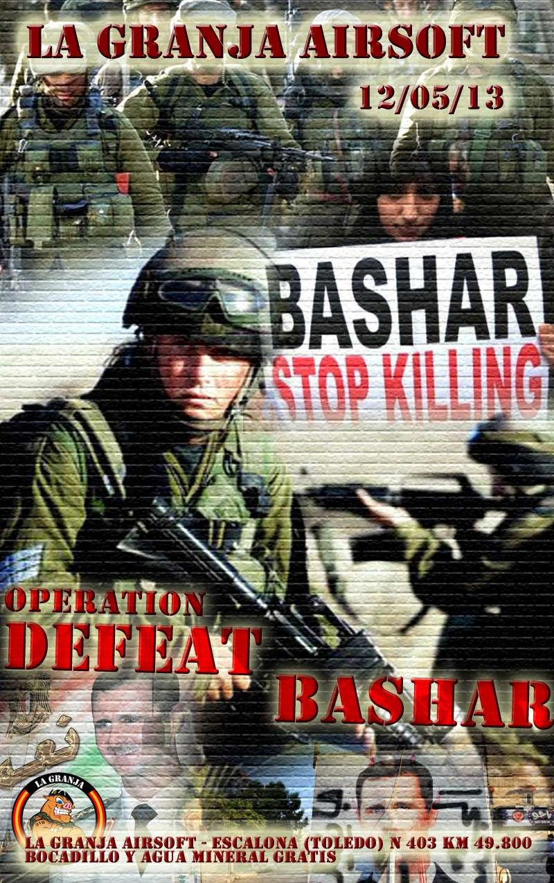 APLAZADA Operation Defeat Bashar - La Granja Airsoft - Partida abierta Bashar10