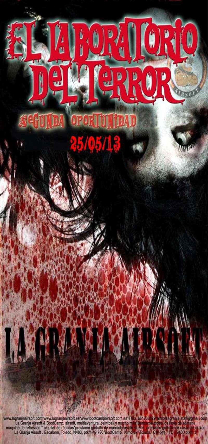 25/05/13 SÁBADO NOCTURNA  El Laboratorio del Terror – La Granja Airsoft                                                                                                                                                                                         Labora10