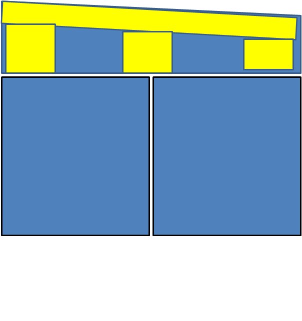 comment rattrapper différence de hauteur de plafond et sol pour pose de portes coulissantes Sans_t10