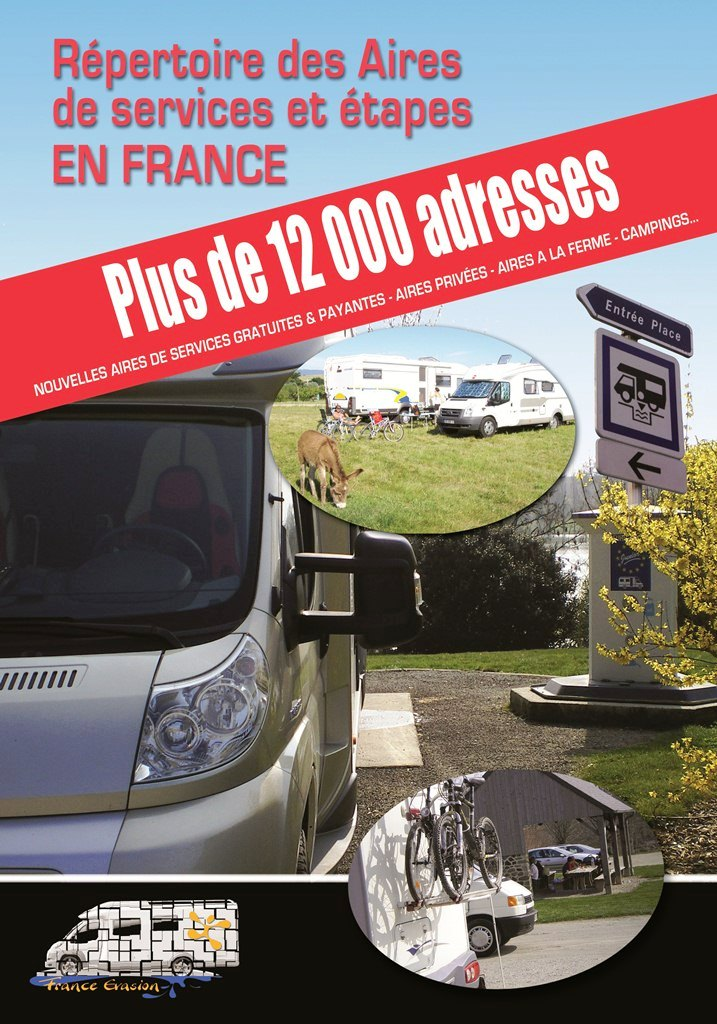 Guide aires camping-car France évasion Page110