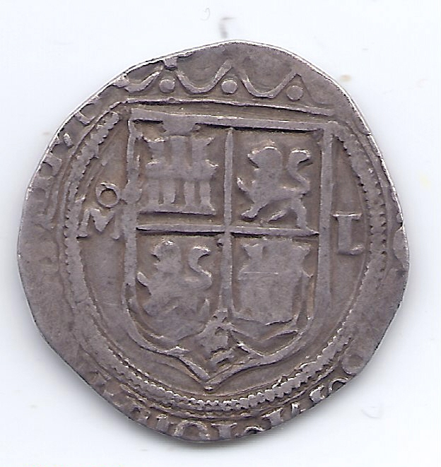 Un Real de Carlos 1er Espagn17