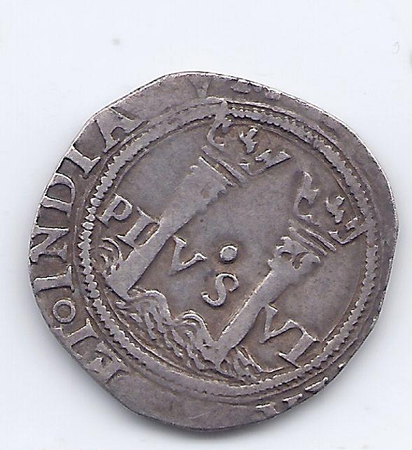 Un Real de Carlos 1er Espagn18
