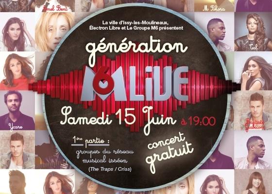 [15.06.13] Génération M6 Live - Issy les Moulineaux Concer10