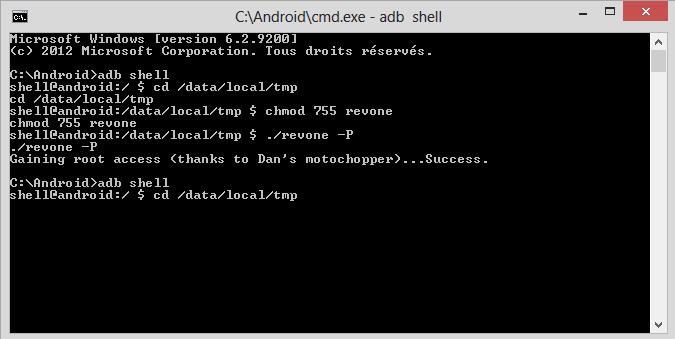 [TUTO] Passer le HTC ONE en  S-off pour hboot 1.44 uniquement 1210
