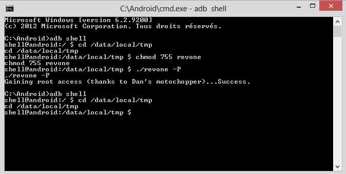 [TUTO] Passer le HTC ONE en  S-off pour hboot 1.44 uniquement 1310