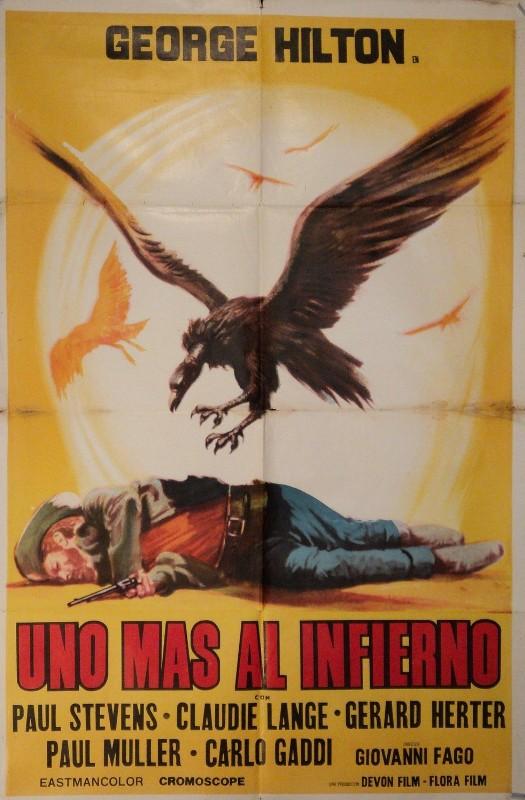 Los Machos - Uno die piu' all 'inferno - Giovanni Fago - 1969 Arg_10