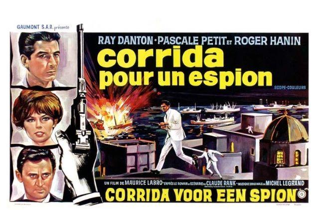 Corrida pour un espion. 1965. Maurice Labro. Corrid10