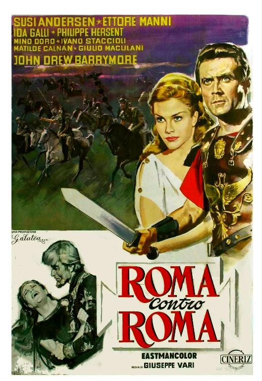 Rome contre Rome. Roma contro Roma. 1964. Giuseppe Vari. Moviec12