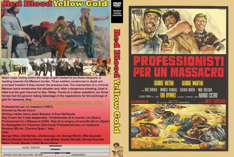 Professionnels pour un massacre - Professionisti per un Massacro - 1967 - Nando Cicero Red25210