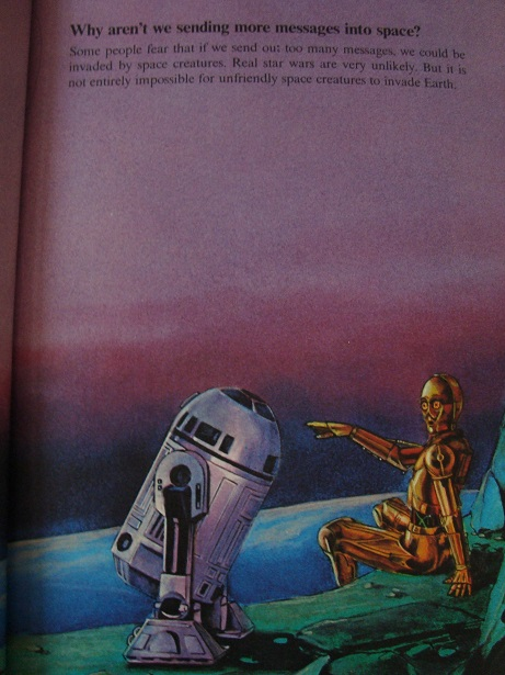 Return of the childhood Star Wars book! Swqand12