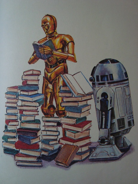 Return of the childhood Star Wars book! Swqand15