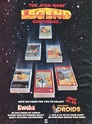 SW ADVERTISING FROM COMICS & MAGAZINES Ewoks_12