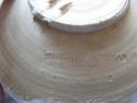 Slipware plate - ROMANIAN POTTER IOANA MISCHIU Potter26