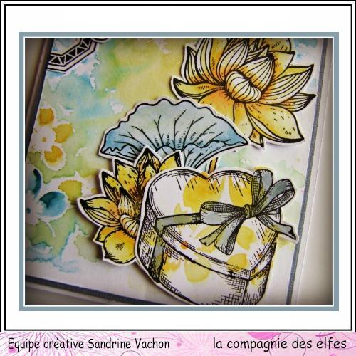 Carte fête des mères  26 mai 3/3 à programmer Carte176