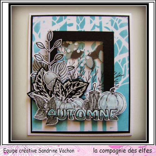 Cartes créatives d'Octobre. Carte316
