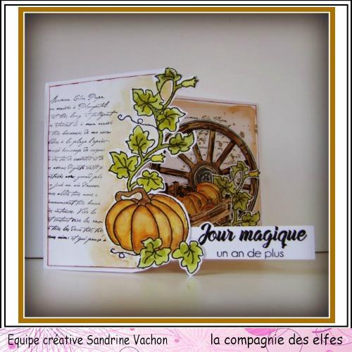 Cartes créatives de Septembre. Carte324