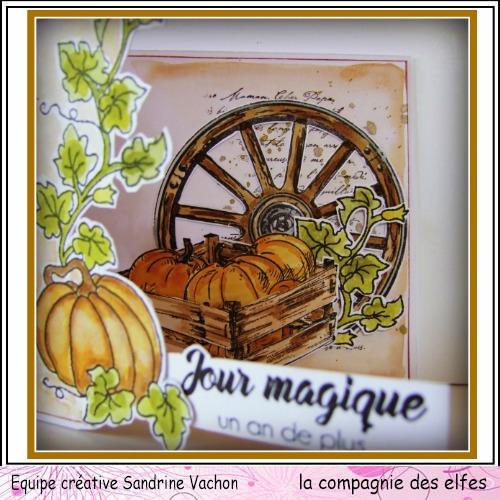Cartes créatives de Septembre. Carte325