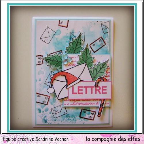 Cartes créatives de Novembre. Carte335