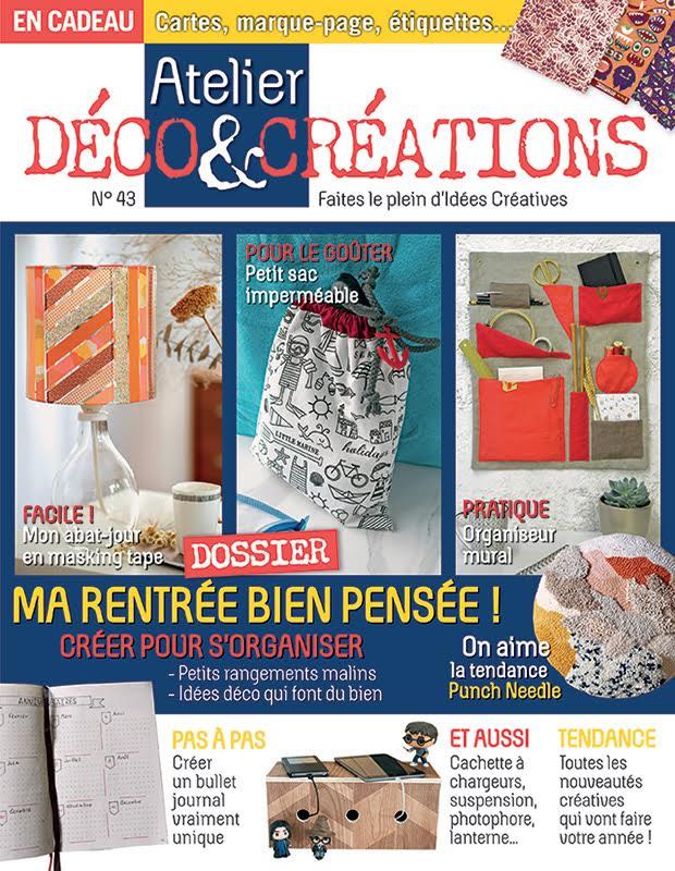 Atelier Déco & Créations n°43 Couv_a10