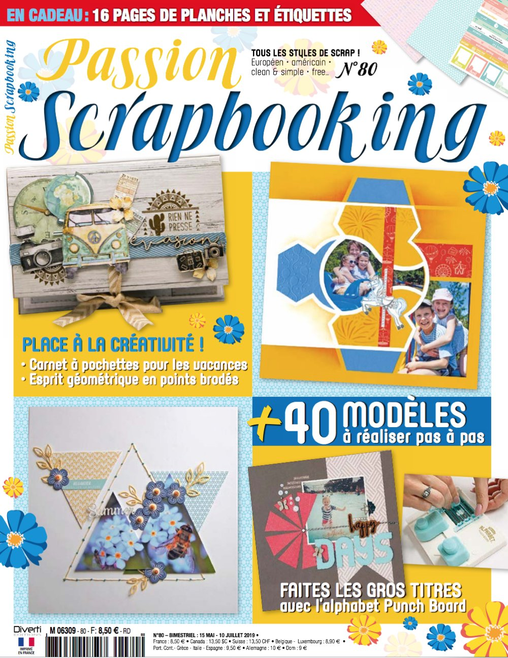 Passion Scrapbooking n°80 Couver10
