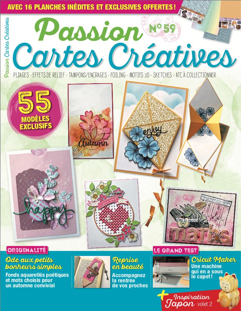 Passion Cartes Créatives n°59 Couver11