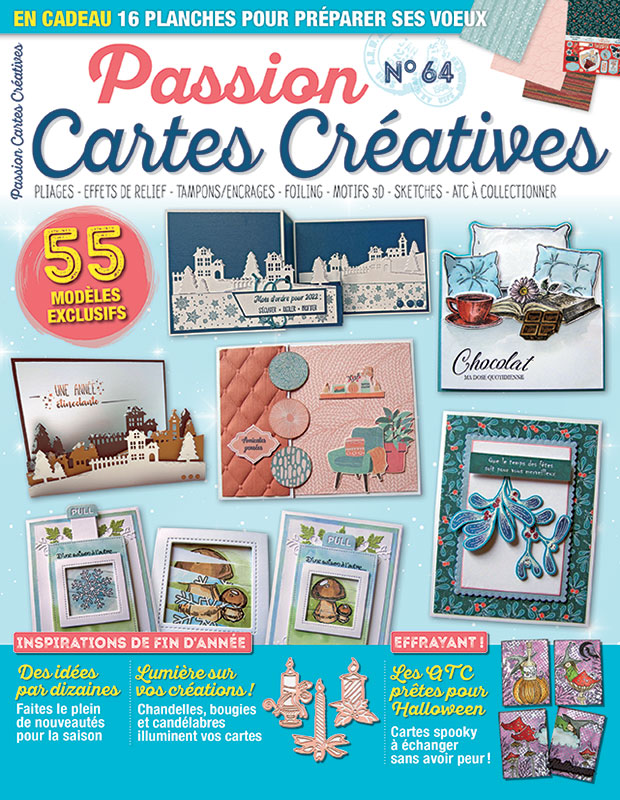 Passion Cartes Créatives n°64 Passio24