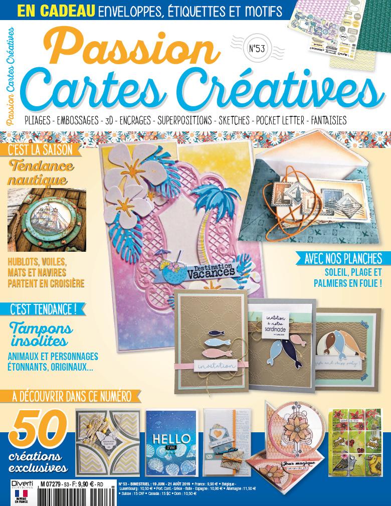 Passion Cartes Créatives n°53 Pcc5310