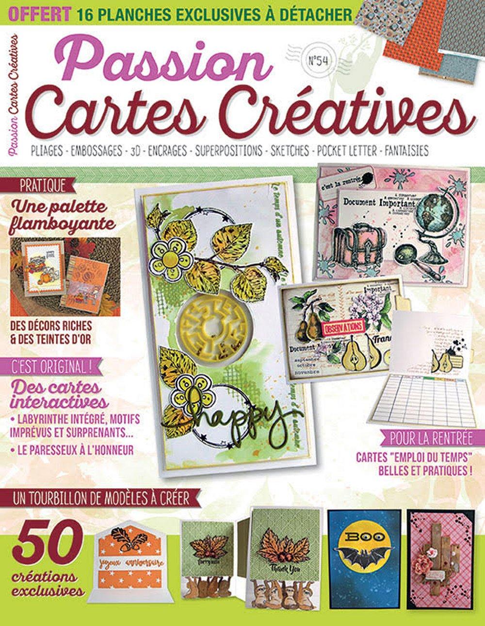 Passion Cartes Créatives n°54 Pcc5410