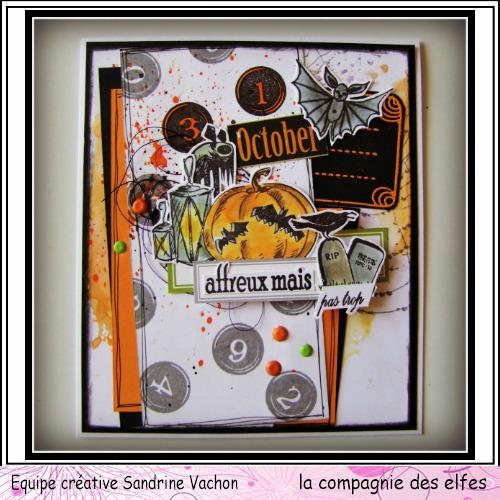Cartes créatives de Septembre. Sandri71