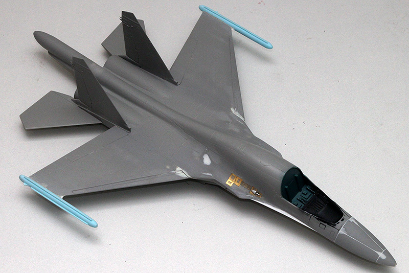 Four 1/72nd scale Flankers 1476_s10