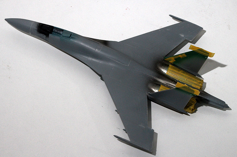 Four 1/72nd scale Flankers 1479_310