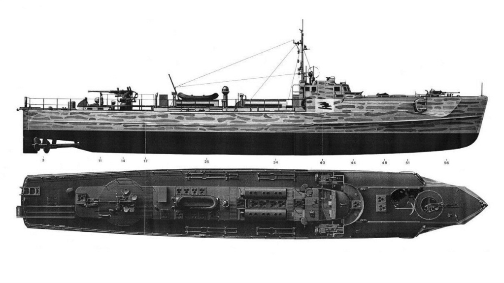 Schnellboot Type S 38 00112