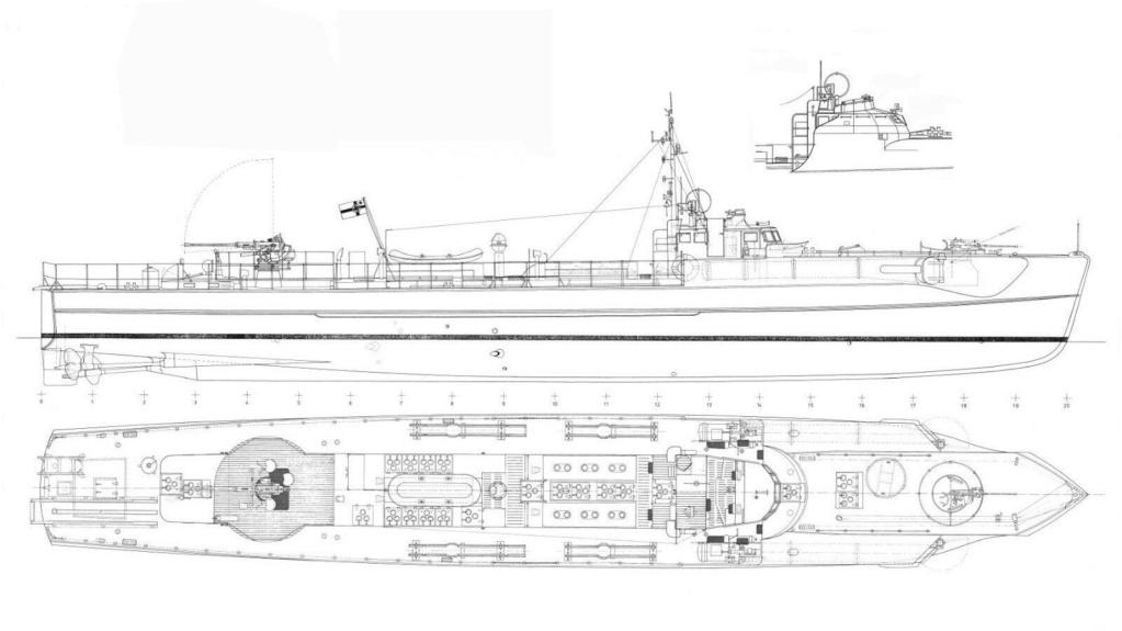 Schnellboot Type S 38 00211