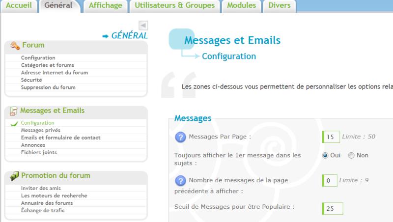 Faire revenir le 1er message à chaque nouvelles page. Captu121