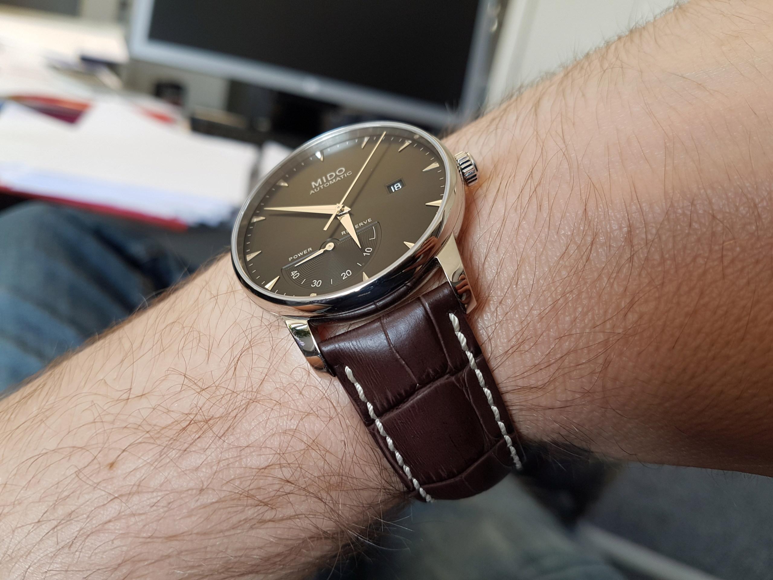 Mido Baroncelli Chronometer Silicium 20180634