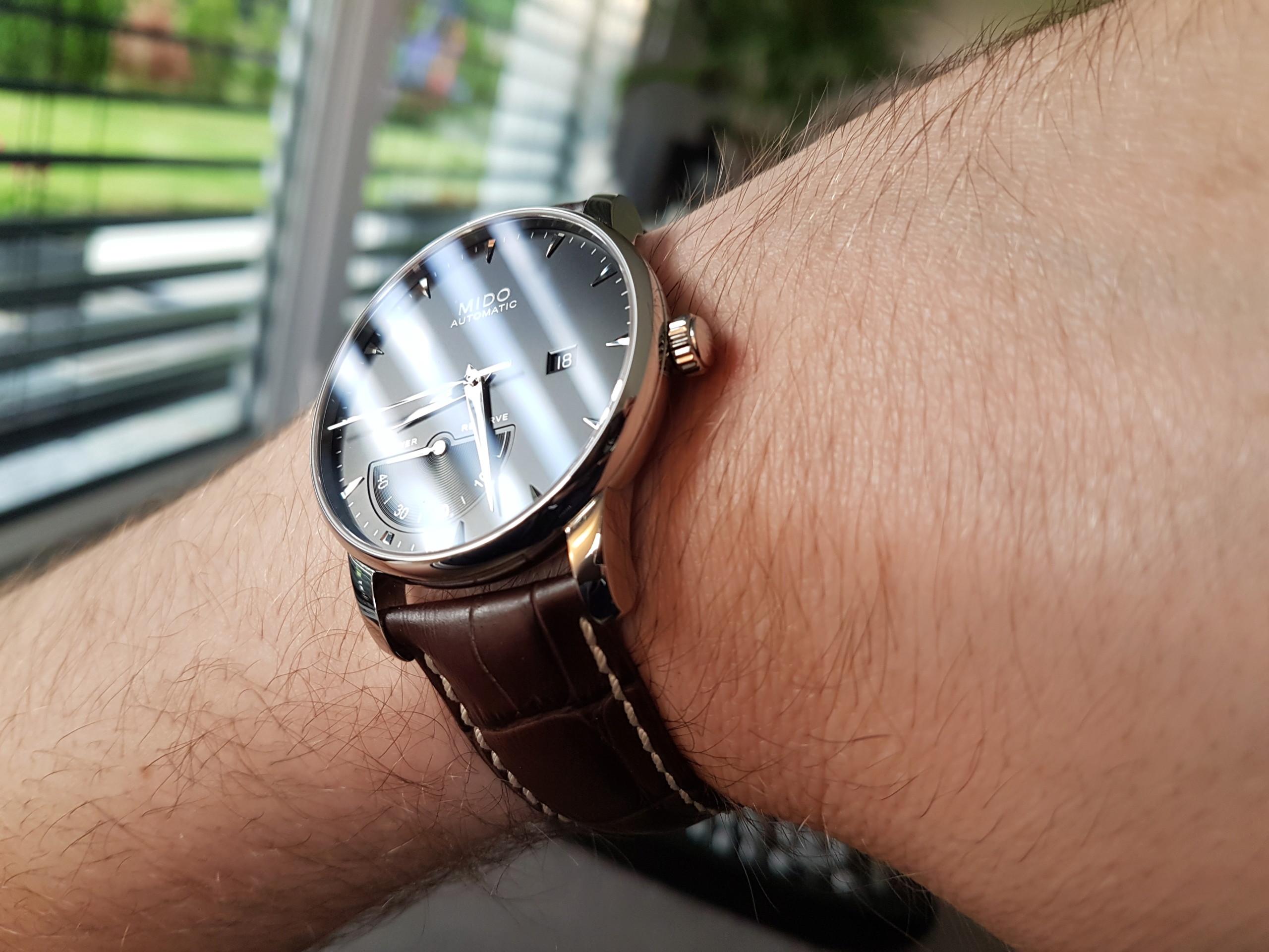 Mido Baroncelli Chronometer Silicium 20180635