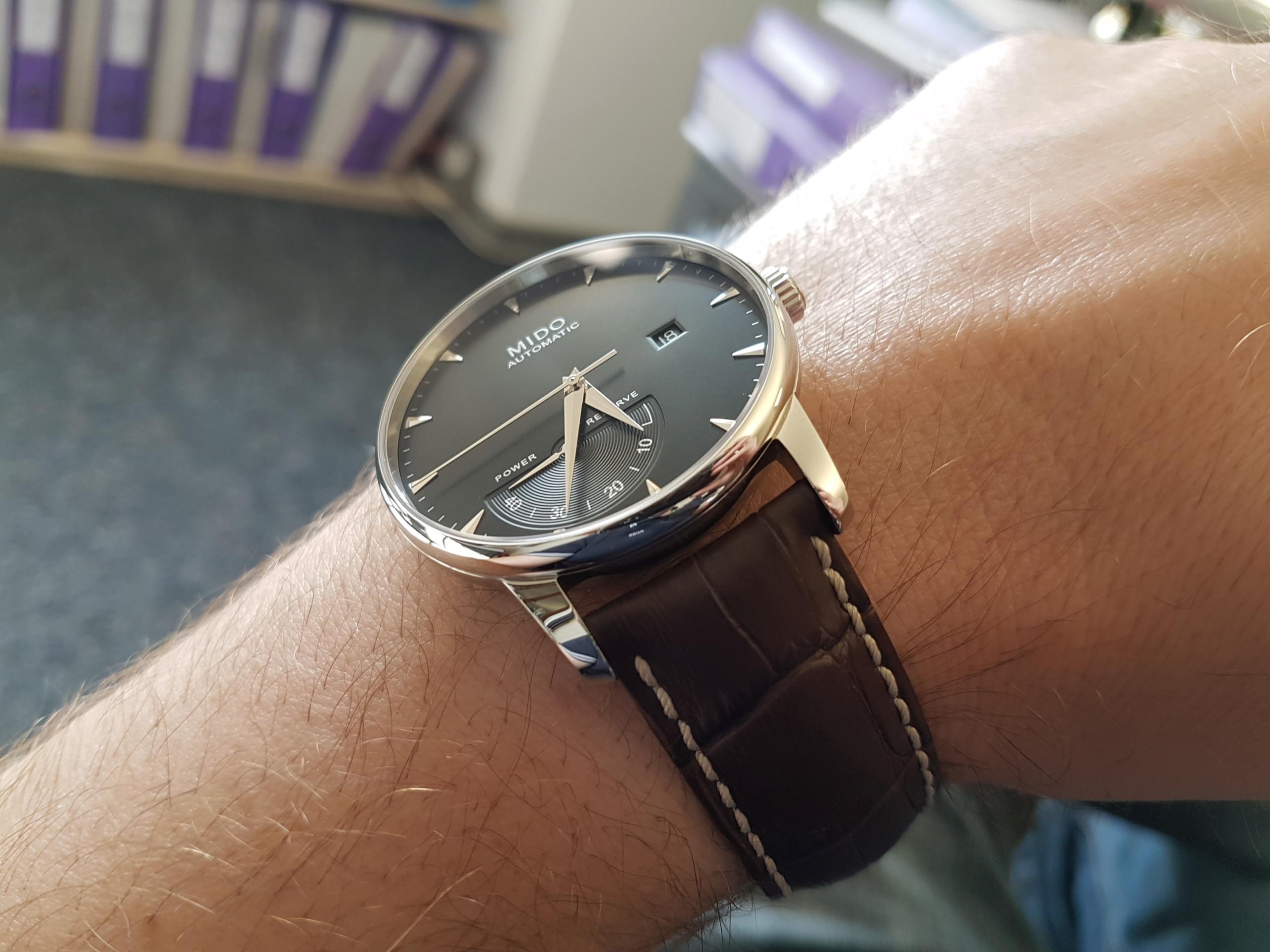 Mido Baroncelli Chronometer Silicium 20180636